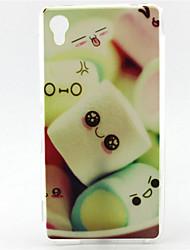 Pour Coque Sony / Xperia Z5 Motif Coque Coque Arrière Coque Dessin Animé Flexible TPU pour SonySony Xperia Z5 / Sony Xperia Z3 Compact /