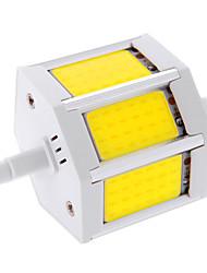 10W R7S Lâmpadas Espiga T 3 COB 960 lm Branco Quente / Branco Frio Decorativa AC 85-265 V 1 pç