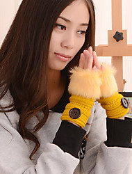 Unisex Knitwear Gloves , Cute / Casual
