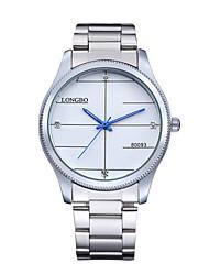 LONGBOFashion Lovers Watch Waterproof Steel Band Watches