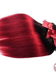 Ombre Brasilianisches Haar Gerade 12 Monate 1 Stück Haar webt