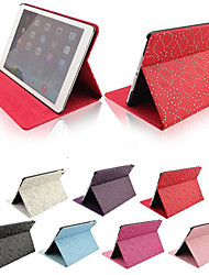 Palace Flower Pattern PU Leather Full Body Case with Stand for iPad Air/iPad 5 (Assorted Colors)