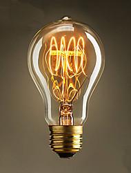 E27 60W A19 Edison Bulbs Popular Decoration Edison Nipple Nostalgia TungstenLight BarFashion