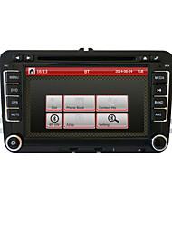 7 pollici 2din lettore DVD dell'automobile per volkswagen con gps, canbus, rds, bt, parcheggio traiettoria, ipod, touch screen