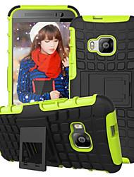 armure affichage de béquille cas hybride couvercle combo disque pc + Coque TPU pour HTC E9 / E9 plus / M8 / M9 / désir 820 mini-
