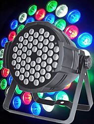 LT - 12 RGB 54 × 3W  DMX512, Master-slave, Voice control, Self-propelled AC90-240V Stage Light