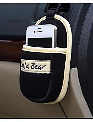 coche del coche con una bolsa de teléfono móvil para el iphone samsung