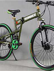 """hummer fietsen 7 snelheden 20 """"mini vouwen mountainbike aandrijflijn aluminiu 4 kleuren"""