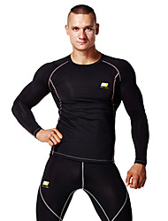 Running Tops / Clothing Sets/Suits Men's Wearable / Lightweight Materials / Soft / Sweat-wicking / Compression TeryleneYoga / Pilates /