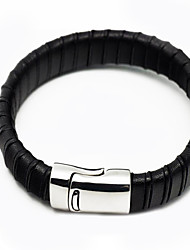 Fashion Men Bracelet Leather Bracelet