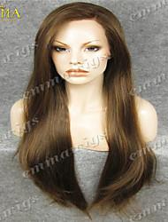 qualité supérieure long lacet ondulé perruque avant african american perruque personnalisée célébrité Emma perruque perruque la meilleure