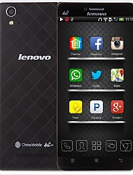 "Lenovo A858T 5.0""IPS Android 4.4 LTE Smartphone(Dual SIM,WiFi,GPS,Quad Core,RAM1GB+ROM8GB,8MP+5MP,2150mAh Battery)"