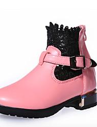 MEISJE - Modieuze laarzen - Laarzen ( Zwart / Roze / Rood )