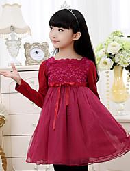 Kid's Dress , Chiffon / Cotton Casual / Cute / Party Sumria