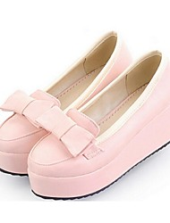 Women's Shoes Wedge Heel Wedges Loafers Casual Blue / Pink / Beige