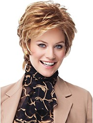 Women's Fashion Short Hair Wig Scorpio Wig with Side Bang