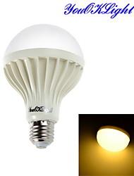 5W E26/E27 Ampoules Globe LED 9 SMD 5630 450 lm Blanc Chaud Décorative AC 100-240 V