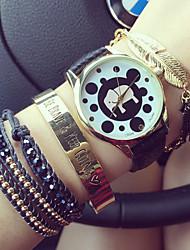Vintage Roman Numerals Dot Elephant Analog Quartz Womens Watches Unisex Watches Cool Watches Unique Watches