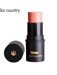 COLOR COUNTRY Soft Magnetic Cheek Is Red Light Bar. Silky Feel Natural Lifted.  3 COLOR. NO.CO-021