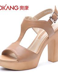 Aokang® Women's Leatherette Sandals - 132825125