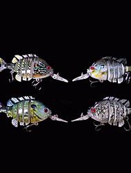 """Poissons nageur/Leurre dur / leurres de pêche Poissons nageur/Leurre dur 4 pcs , 56 g / <1/18 / 1/2 Once , 70 mm / 2-3/4"""" pouceCouleurs"""