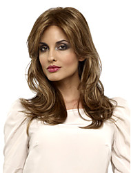 European and American Fashion New Long Hair Light Blonde Hair Wig