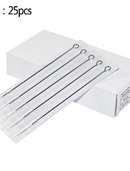 25pcs 5RL 316 Stainless Steel Needles for Tattooing Tight Round Liner Tattoo Needles
