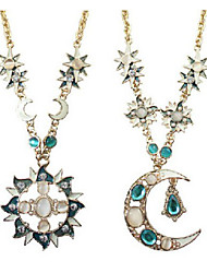 BT Fashional Popular Hot Selling Moon Necklace