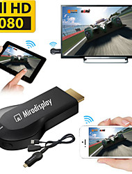 Miradisplay  TV Stick  1080P Chromecast DLNA Airplay WiFi Display Receiver Dongle Support Windows iOS Andriod
