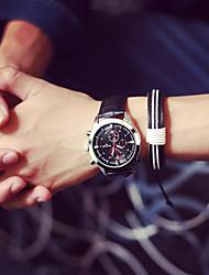 Мужской Наручные часы Кварцевый PU Группа бренд-