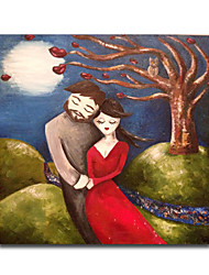 IARTS®Cartoon people canvas painting hug painting