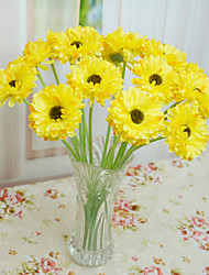 Home Improvement Polyester Daisies Artificial Flowers