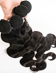 Cheap Malaysian Hair 4 Bundles Natural Color Can Be Dyed Mixed Length 8-30iinch Virgin Malaysian Hair Weaves