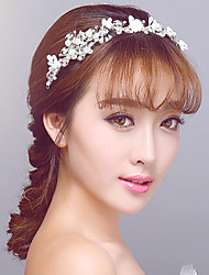 Korean Villatic Butterfly-Style Wedding / Party Headpiece with Pearls/Crystal