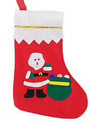 2015 Selling Christmas Big Applique Sock