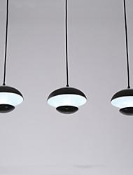 Lustre Lampe suspendue ,  Contemporain Traditionnel/Classique Tiffany Batterie Globe Saladier Peintures Fonctionnalité for LED Style mini