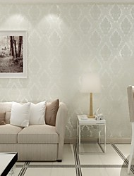 Floral Papier peint Contemporain Revêtement , Intissé Phantom Soundproof Non-Woven 3D Wallpaper