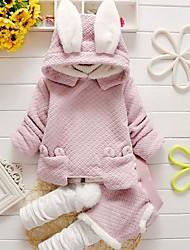 Kid's Coat , Cotton / Cotton Blend Casual / Cute Endofyear