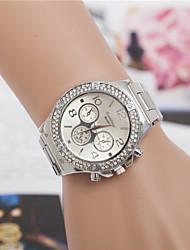 Women's Fashion Diamond Quartz Analog Steel Belt Bracelet Watch(Assorted Colors) Cool Watches Unique Watches Strap Watch