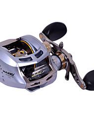Haibo 7 Bearing Baitcast Fishing Reel Gear Ratio 7.2:1  Alu Body Fresh Water