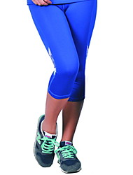 Running Pants/Trousers/Overtrousers / Bottoms Women's Antistatic / Limits Bacteria / Soft / Sweat-wicking Nylon / Elastane Yoga Iyoga