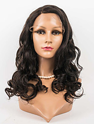 16inch Lace Front Hair Wigs Celebrity Style 100% Human Hair Mongolian Virgin Hair Body Wave Hair Wigs for Women