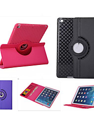 360 cas rotation étui en cuir de TPU Smart Cover iPad mini3 flip avec la fonction de support pour l'air apple ipad (de couleurs assorties)