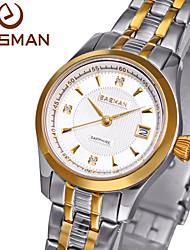 easman mulheres relógio relógio de quartzo de alta qualidade hora marca de relógio senhoras relógios de pulso relógio de ouro