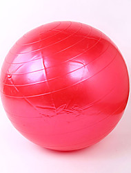 85cm Ballon de Gymnastique/Ballon de Yoga PVC Rouge Unisexe Also Kang