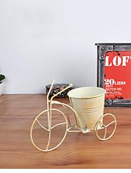 decoração de casa para restaurar antigas formas de decoração artigos triciclo, forjado flor prateleira de ferro, produtos vegetais em
