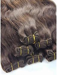 """1шт / много 12 """"-28"""" 100g / много бразильских виргинских волос прямо машина волосы сотка extensiones де-Кабельо превосходит"""