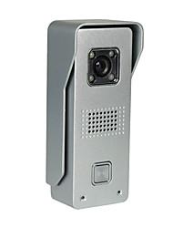 ROCST Metal Anti-Rain Cmos Outdoor Station + HD 7 inch Indoor Monitor Vision Video  Doorbell Kit