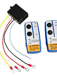 беспроводной беспроводная дистанционный переключатель управления лебедки 12v
