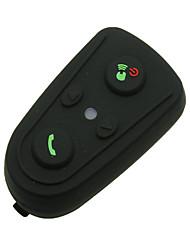 Waterproof Motorcycle Helmet Bluetooth Headset Walkie Talkie for Bluetooth Cell phones And GPS